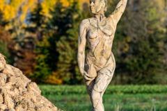 AGRAR ART Bodypainting RÜBENBERG  (Aktmodell: Darky / Projektfotograf: Carsten Dauer)