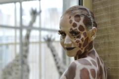 ANIMAL ART - GIRAFFE (Bodypaintingmodell: Katey / Fotograf: C. Korwes)