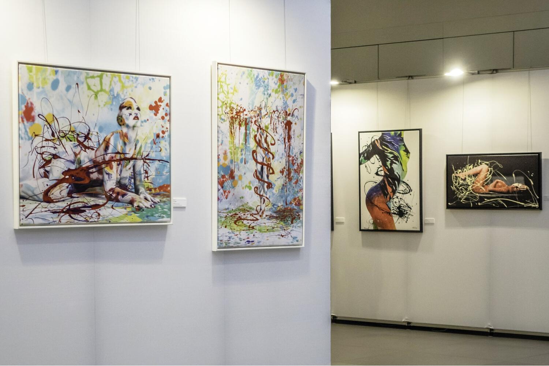 """Ausstellung LIVING ART """"Unter der KSK-Pyramide"""" Heilbronn"""