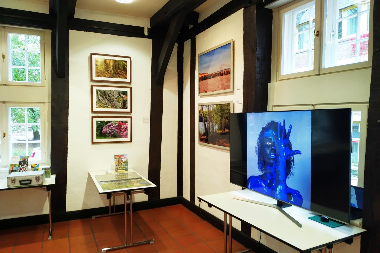 Ausstellung CAMOUFLAGE und BODYART Wunstorf