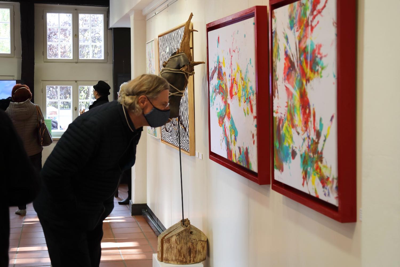 Ausstellungs-Vernissage CAMOUFLAGE und BODYART Wunstorf