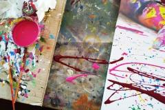BODYART Leinwandgemälde MakingOf PRINT.SPLASH-I special Art