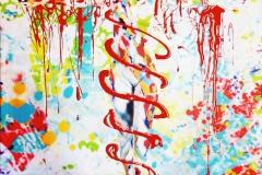 BODYART Gemälde specialArt MIXED-3 (75x100 cm, Bild auf Keilrahmen-Leinwand, artist handmade finished)