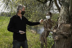 NATUREART Bodypainting MakingOf FISCHTEICH  (Aktmodell: Lisa / Projektfotograf: T. Skupin)