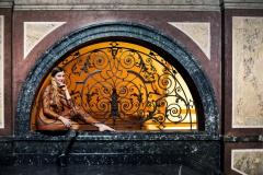 Camouflage-Bodypainting PALAISFENSTER  (Fotomodell: Madeline / Fotograf: J. Bredemeier)