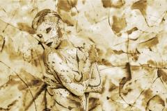 Bodypainting Performance COLOURLISA  (Nudemodel: Lisa / Fotograf: D. Largo Schulz)