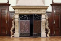 DOOR ART Bodypainting KAMIN  (Bodypaintingmodelle: Anna-Lena u. Nadine / Fotograf: T. Skupin)
