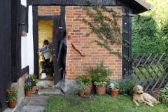 DOOR ART Bodypainting KLOTÜR  (Bodypaintingmodell: Laura / Fotograf: T. Skupin)