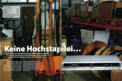 Bodypainting für ein Editorial Technik-Fachmagazin