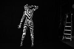 BODYART - GRAPHIC  (Bodypaintingmodell: Katey / Fotograf: U. Schmida)