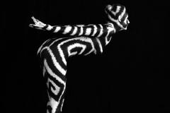 SCHWARZWEISS Bodypainting  (Bodypaintingmodel: Katey / Fotograf: U. Schmida)
