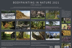 Kalender BODYPAINTING IN NATURE Info 2021