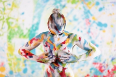 MIXED  (Bodypaintingmodell: Katharina / Fotograf: Mike Koppold)