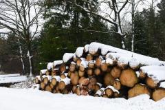 Schneestapel