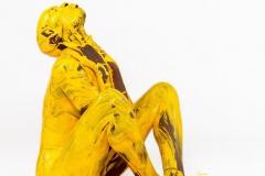 YELLOW.SPLASH (Bodyartmodel: Lenny / Fotograf: Dennis Largo Schulz)