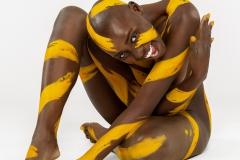 BODYART Bodypainting ORNAMENTS-II  (Bodyartmodel: Lenny / Fotograf: Dennis Largo Schulz)