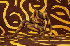 BODYART Bodypainting ORNAMENTS-I  (Bodyartmodel: Lenny / Fotograf: Dennis Largo Schulz)