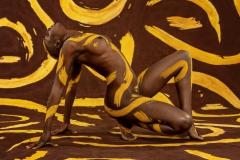 BODYART Bodypainting ORNAMENTS  (Bodyartmodel: Lenny / Fotograf: D. Largo Schulz)