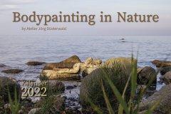 Kalender NATURE ART - BODYPAINTING IN NATURE 2022 - Titelbild