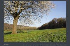 Kalender NATURE ART - BODYPAINTING IN NATURE 2022 - März