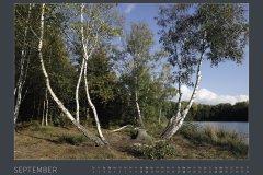 Kalender NATURE ART - BODYPAINTING IN NATURE 2022 - September