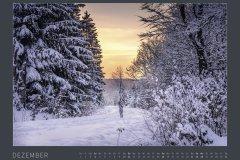 Kalender NATURE ART - BODYPAINTING IN NATURE 2022 - Dezember