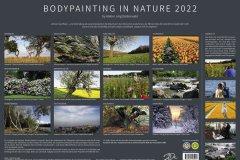 Kalender NATURE ART - BODYPAINTING IN NATURE 2022 - Infoseite