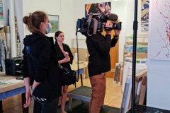 NATUREART Bodypainting TV-Reportage MakingOf BUCHENSTAMM (Bodypaintingmodell: Lana / Projektfotograf: T. Skupin)