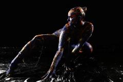 BODYART Kunstperformance SLIMETWO  (Aktmodell: Milena / Projektfotograf: A. Grosse-Strangmann)