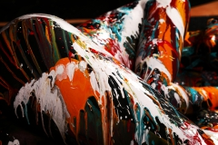 BODYART Kunstperformance BLACK.SPLASH  (Fotomodell: Lana / Fotograf: A. Meier)