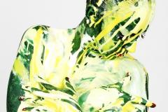 BODYART GREEN.SPLASH  (Aktmodell: Sugarbabe / Fotograf: T. Skupin)