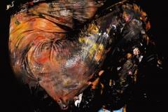 BODYART Kunstperformance LIGHTBLUE.SPLASH  (Aktmodell: Karo / Projektfotograf: A. Meier)