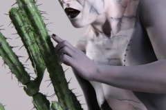 Bodypainting für Kalenderproduktion STERNZEICHEN / Skorpion