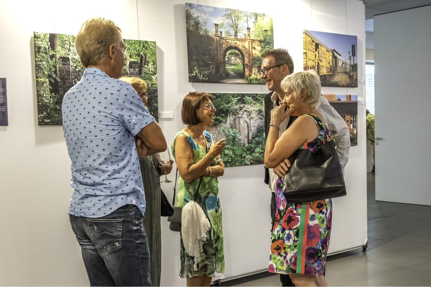 Vernissage Ausstellung LIVING ART - KSK Heilbronn