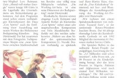 Pressebericht ELEKTROMA-Vernissage