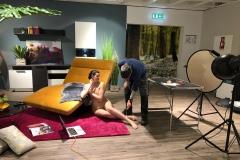 BODYPAINTING ART Marketing MakingOf VORWERK-FLOORING (Bodypaintingmodell: Lana / Projektfotograf: J. Burger)