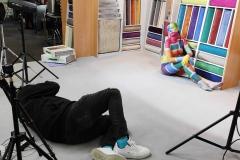 BODYPAINTING ART MakingOf VORWERK-FLOORING (Bodypaintingmodell: Nina / Projektfotograf: J. Burger)