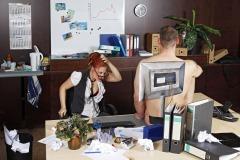 WORKING ART - Bürofachkraft /Bodypainting meets Business