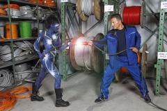 WORKING ART - Elektriker / Bodypainting meets Business