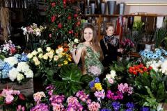 WORKING ART - Floristin / Bodypainting meets Business