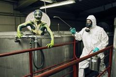 WORKING ART - Schädlingsbekämpfer / Bodypainting meets Business