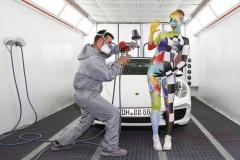 WORKING ART - Fahrzeuglackierer / Bodypainting meets Business