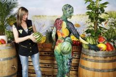 WORKING ART - Lebensmittelfachverkäuferin / Bodypainting meets Business