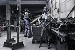 WORKING ART - Schlosser / Bodypainting meets Business