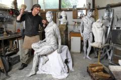WORKING ART - Steinmetz / Bodypainting meets Business