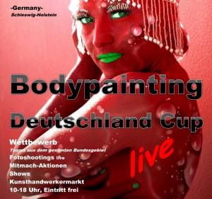 BODYPAINTING DEUTSCHLAND CUP