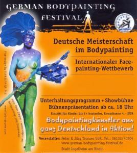 DEUTSCHE BODYPAINTING FESTIVALS