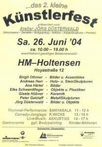 2. KLEINES KÜNSTLERFEST HOLTENSEN