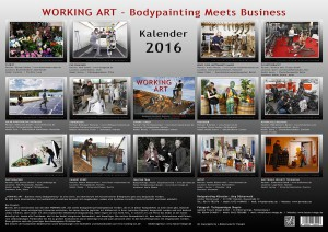 WORKING ART Kalender 2016