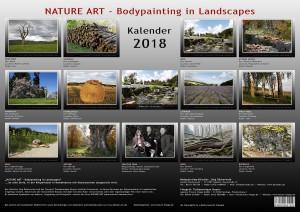 NATURE ART Kalender 2018